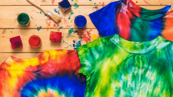 tie dye t shirts arts and crafts for kids hennathome